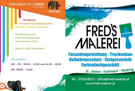 Fred's Malerei